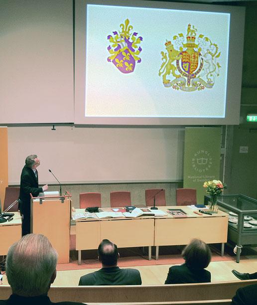 Heraldik på KB 5/5 2012