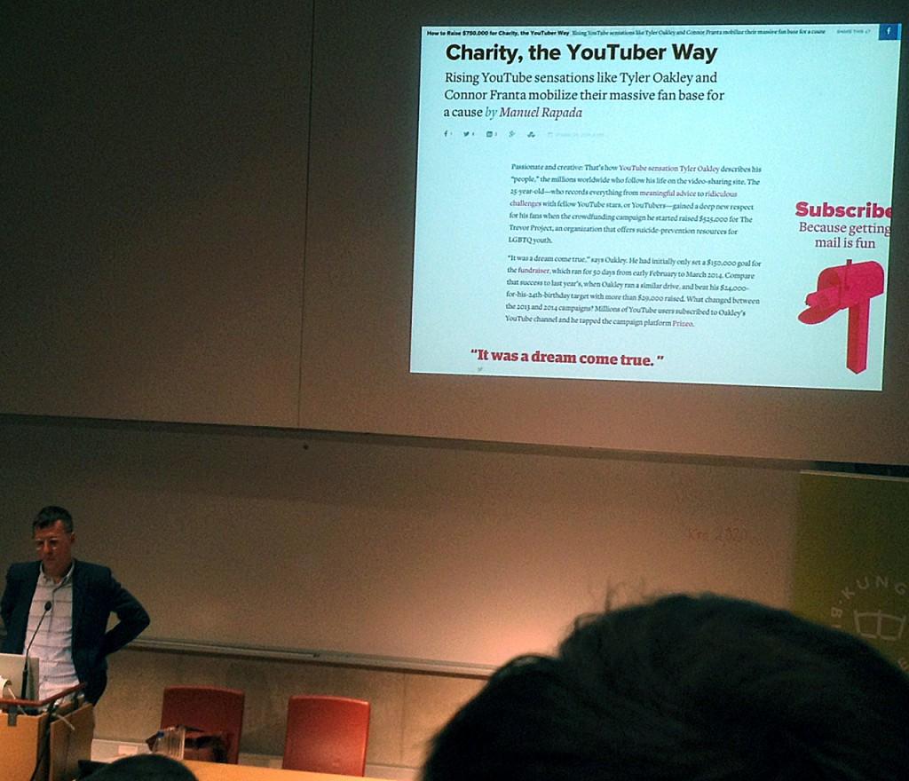 Peter Ström redogör för webbtypografins utveckling. Här är ett exempel på vad modern webbtypografi klarar av.
